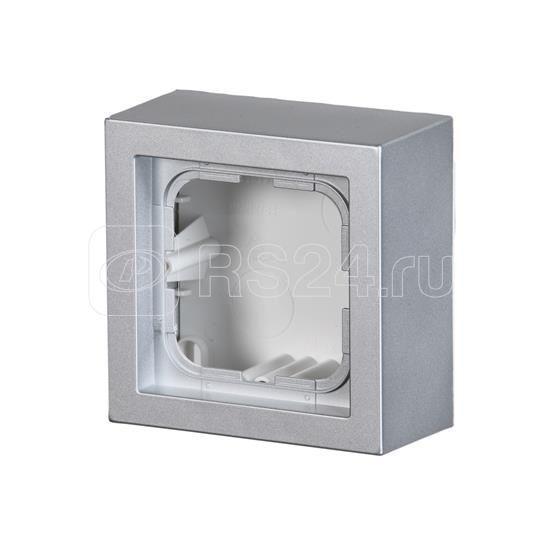 Коробка для накладного монтажа Impressivo алюм. ABB 2TKA00001618 купить в интернет-магазине RS24