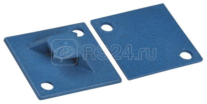 Основание монтажное обнаруживаемое для перекрестного монтажа винт/самоклеящееся; синий полипропилен 29х29; 76; (уп.100шт) ABB 7TAG009660R0026 купить в интернет-магазине RS24