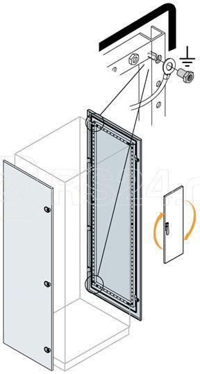Дверь боковая 2200х400мм ABB EC2241K купить в интернет-магазине RS24