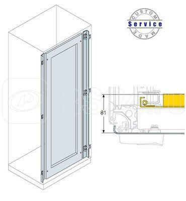 Дверь внутренняя с рамкой 1800х600мм ABB EE1906K купить в интернет-магазине RS24