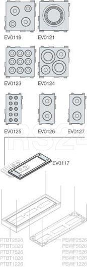 Сальник 34х68 10х(d4-10) (уп.10шт) ABB EV0127 купить в интернет-магазине RS24