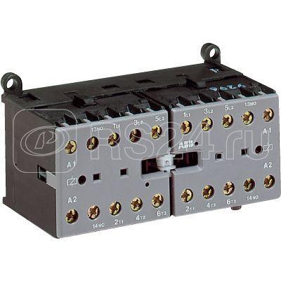 Миниконтактор реверсивный VВC6-30-01 9А 400В AC3 катушка 230В DС ABB GJL1213901R0015 купить в интернет-магазине RS24