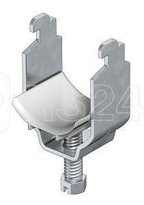 Скоба зажимная U-образ. d22-28мм 2056N 28 FT гор. оцинк. OBO 1163280 купить в интернет-магазине RS24