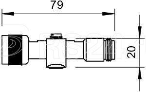 Устройство защиты от импульсных перенапр. УЗИП для коаксиального кабеля (тип разъема N) 130В DS-N m/w OBO 5093996 купить в интернет-магазине RS24