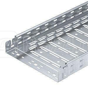 Лоток листовой перфорированный 300х60 L3050 сталь 1мм RKSM 630 FT OBO 6047655 купить в интернет-магазине RS24