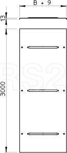 Крышка для лотка осн.200 L3000 сталь 1мм WDRL 1116 20 DD цинк-ламель OBO 6227600 купить в интернет-магазине RS24