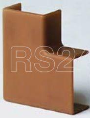 Угол плоский для кабель-канала 22х10 APM корич. (розн. упак. 4шт) DKC 00407RB купить в интернет-магазине RS24