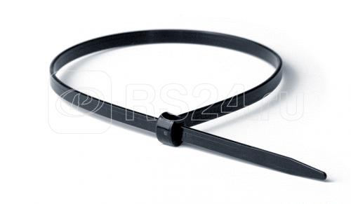 Хомут кабельный 4.5х360 P6.6 черн. с двойным замком (уп.100шт) DKC 21319 купить в интернет-магазине RS24