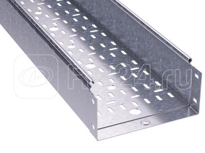Лоток листовой перфорированный 200х100 L3000 сталь 1мм DKC 3534310