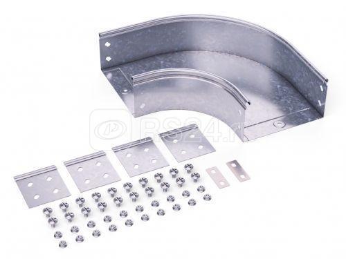 Угол для лотка горизонтальный 90град. 100х50 CPO 90 в комплекте с крепеж. элементами DKC 36002K купить в интернет-магазине RS24