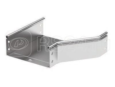 Переходник для лотка RRD правосторонний 400/300 H100 в комплекте с крепеж. эл. и соед. пластинами для монтажа DKC 36350KHDZ купить в интернет-магазине RS24