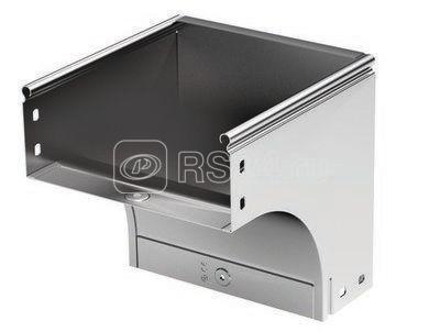Угол для лотка вертикальный внешний 90град. 500х80 CDV 90 в комплекте с крепеж. элементами DKC 37377K купить в интернет-магазине RS24