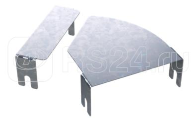 Крышка для угла горизонт. изменяемого CPO 0-44 осн. 600 цинк-ламель (аналог гор. цинк.) DKC 38016HDZL купить в интернет-магазине RS24