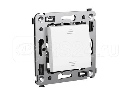 Выключатель 1-кл. СП Avanti Белое облако DKC 4400103 купить в интернет-магазине RS24