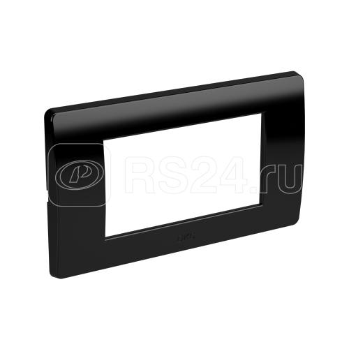 Рамка 1-м 4мод. Brava (для TOR и TBN) черн. DKC 75011B