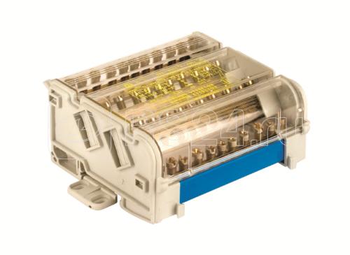Блок распределительный 4p 5х7мм на DIN-рейку DKC BD16084 купить в интернет-магазине RS24