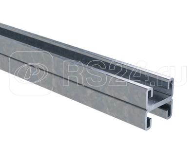 Профиль С-образный двойной 41х21 L1200 сталь 2.5мм гор. оцинк. DKC BPD2112HDZ купить в интернет-магазине RS24