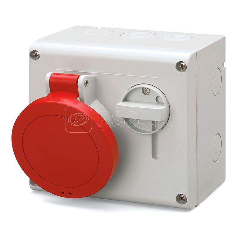 Розетка наружн. уст. 32А 400В 3P+E IP44 DKC DIS5003286 купить в интернет-магазине RS24