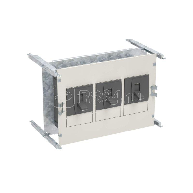 Комплект базовый для вертикальной установки АВ ABB T5 630А втыч.+мот. прив. без секционирования Ш=600мм внутреняя панель DKC R5PKIB2V61416 купить в интернет-магазине RS24