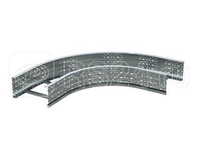 Угол для лестн. лотка горизонтальный 90град. 100х900 R-660 DKC ULD619