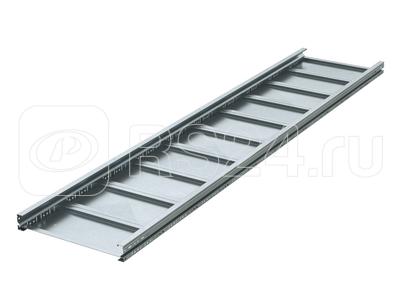 Лоток листовой неперфорированный 300х80 L3000 сталь 1.5мм (лонжерон) цинк-ламель DKC UNM383ZL купить в интернет-магазине RS24