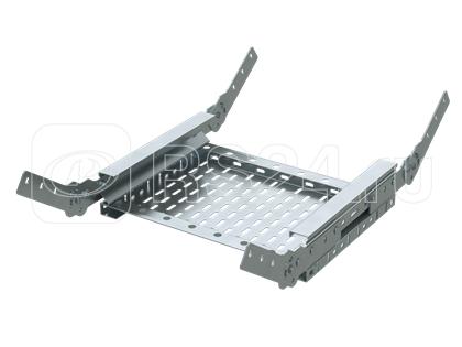 Угол для лотка вертикальный 150х400 гор. цинк DKC USF054HDZ