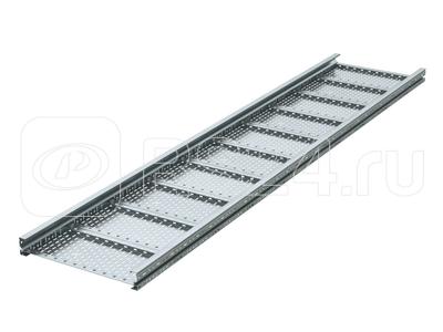 Лоток листовой перфорированный 400х80 L6000 сталь 2мм тяжелый (лонжерон) DKC USH684 купить в интернет-магазине RS24