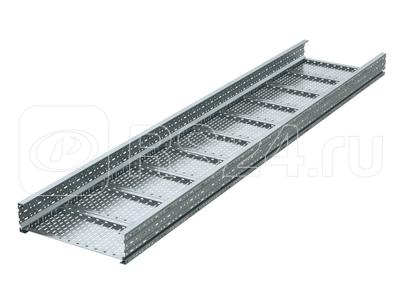 Лоток листовой перфорированный 400х150 L3000 сталь 1.5мм тяжелый (лонжерон) гор. оцинк. DKC USM354HDZ купить в интернет-магазине RS24