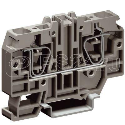 Зажим проходной HMM.10/GR 10кв.мм сер. DKC ZHM330GR-RET купить в интернет-магазине RS24