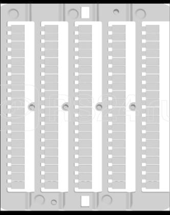 Табличка маркировочная отпечат. CNU/8/18/100/ 18 (уп.500шт) DKC ZN8Y18 купить в интернет-магазине RS24