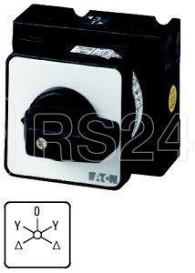Переключатель звезда-треугольник 3п Ie=25А перед. креп. T3-6-15898/E EATON 004350 купить в интернет-магазине RS24