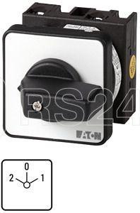 Переключатель многоскоростной 3п Ie=12А пол.2-0-1 45град. перед. креп. T0-3-20/E EATON 013234 купить в интернет-магазине RS24