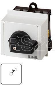Переключатель управления 2п Ie=12А пол.I < 1 45град. 45х45мм модульное исполнение T0-1-15322/IVS EATON 017501 купить в интернет-магазине RS24