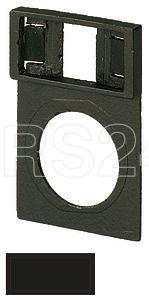 Держатель шильдика знак пустой с инд. надписью черн. Q25TS-01 EATON 046184 купить в интернет-магазине RS24