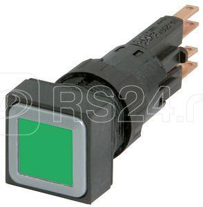 Кнопка с подсветкой с фикс. лампа 24В Q18LTR-GN/WB зел. EATON 086413 купить в интернет-магазине RS24