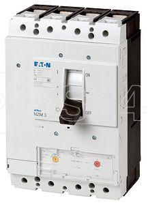 Выключатель автоматический 4п 400/250А диапазон уставок 320…400А нейтрали 150кА NZMH3-4-A400/250 EATON 109703 купить в интернет-магазине RS24