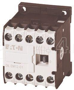 Миниконтактор DILEM12-01 (110В 50Гц) EATON 127088 купить в интернет-магазине RS24