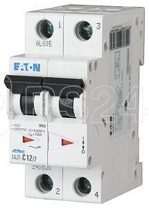 Выключатель автоматический модульный 2п D 40А 25кА FAZT-D40/2 EATON 142492 купить в интернет-магазине RS24