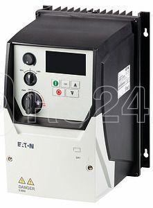 Преобразователь частоты DA1 3~230В 7А 1.5кВт встроенный фильтр ЭМС IP66 локальное управление DA1-327D0FB-B6SC EATON 169356 купить в интернет-магазине RS24