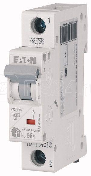 Выключатель автоматический модульный 1п C 16А 4.5кА HL-C16/1 EATON 194731