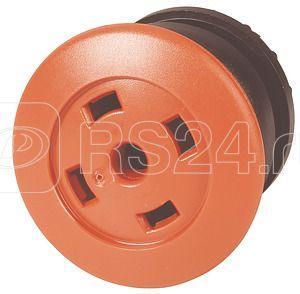 Головка кнопки M22S-DP-R-X грибовидная без фикс. пустая красн.; черн. лицевое кольцо EATON 216733 купить в интернет-магазине RS24