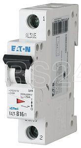 Выключатель автоматический модульный 1п B 25А 25кА FAZT-B25/1 EATON 240797 купить в интернет-магазине RS24