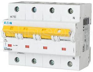 Выключатель автоматический модульный 4п (3P+N) B 25А 25кА PLHT-B25/3N EATON 248051 купить в интернет-магазине RS24