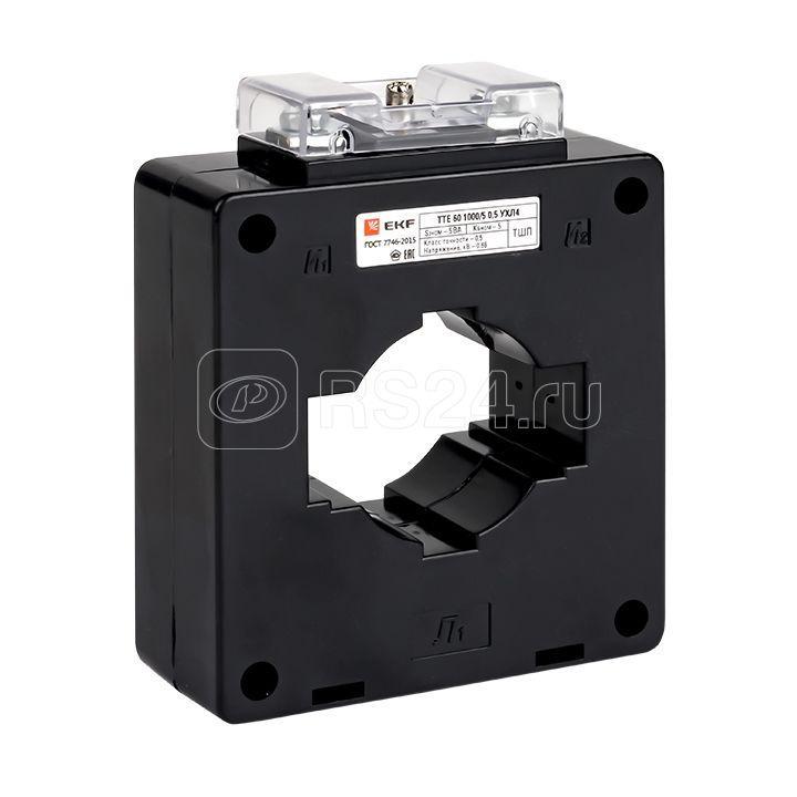 Трансформатор тока ТТЕ 60 1000/5А кл. точн. 0.5 5В.А EKF tte-60-1000