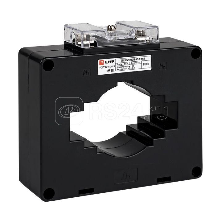 Трансформатор тока ТТЕ 85 1000/5А кл. точн. 0.5 5В.А EKF tte-85-1000/tc-85-1000