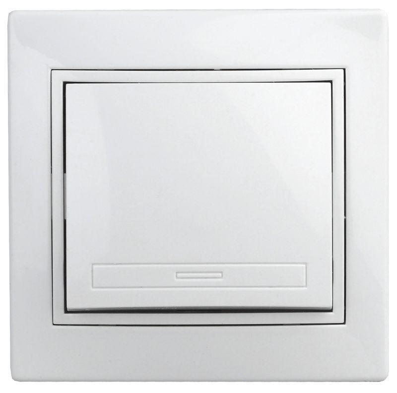 Выключатель 1-кл. СП Plano 10А IP20 1-101-01 250В бел. Intro Б0027586 купить в интернет-магазине RS24