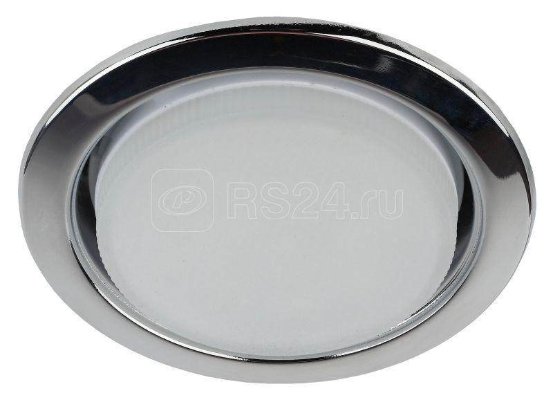 Светильник KL35 CН-10 ЭРА под лампу Gx53 13Вт 220В хром (уп.10шт) ЭРА Б0033033