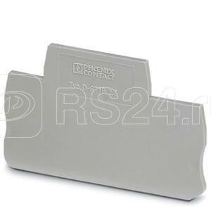 Крышка концевая D-STTB 2.5 (уп.50шт) Phoenix Contact 3030459 купить в интернет-магазине RS24