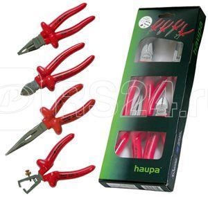 Набор клещей VDE (4 предмета) HAUPA 220126 купить в интернет-магазине RS24