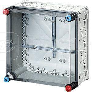 Корпус пластиковый для счетч. Mi 300х300х170 IP65 сер/дым. крышка MI2200 HENSEL 2000075 купить в интернет-магазине RS24